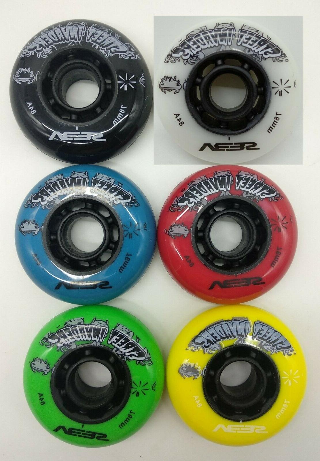 80 mm inline skates 84a wheel roller