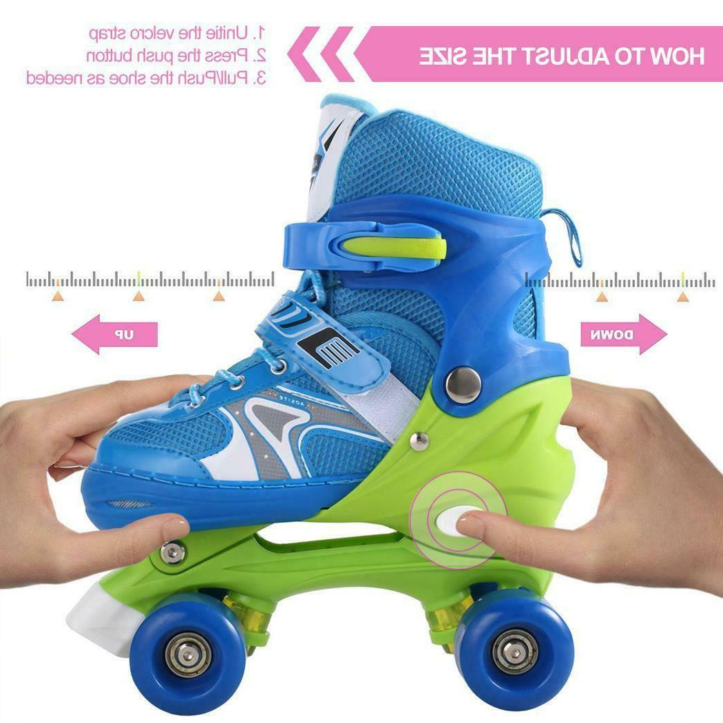 Adjustable Children Roller Skates Size