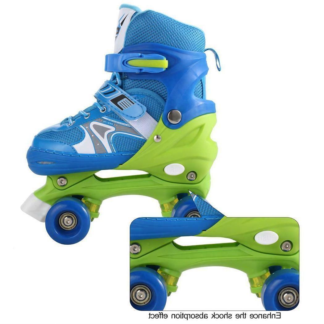 Adjustable Children Roller Blades Size 8+
