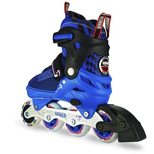 Crazy Skates Adjustable Skates with Wheels | Roller for Boys |