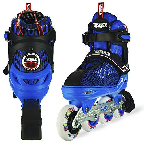 Crazy Skates Wheels | Roller for | Blue Small