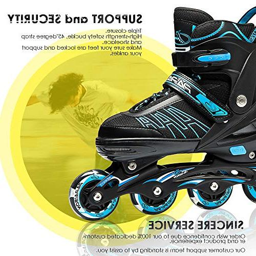 Skates Adults, Skates Featuring All Illuminating for Men and Ladies