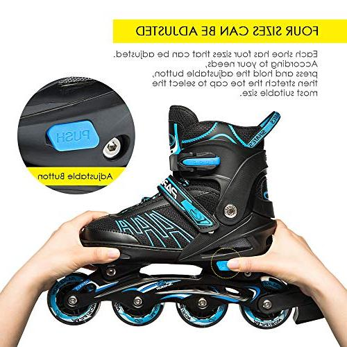IUU Skates for Adults, Roller Skates with for Boys, Men and