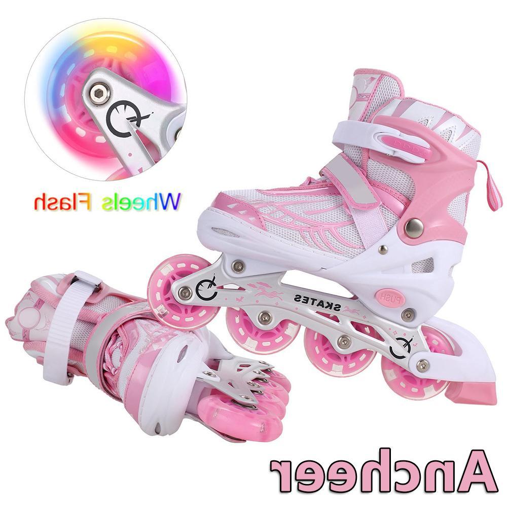 Inline with Up Wheels Adjustable Roller Skates