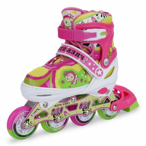 Llluminating Skates Girls Kid
