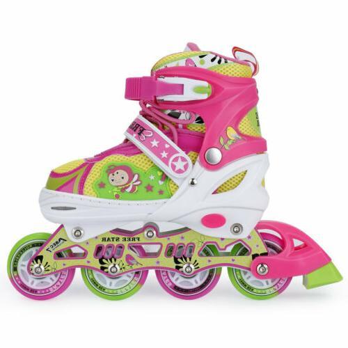 Adjustable Inline Skates Adults Wheel up