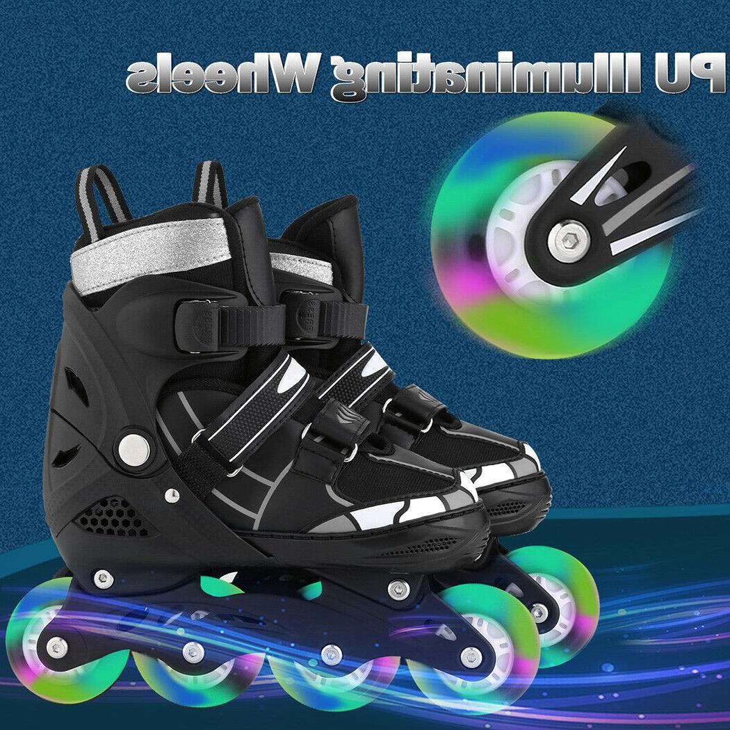 Adjustable Inline Blades Adult Size 8-10.5 Breathable Or
