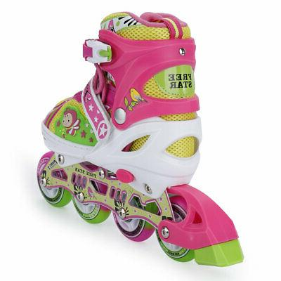 Adjustable Kids Adults Rollerblades