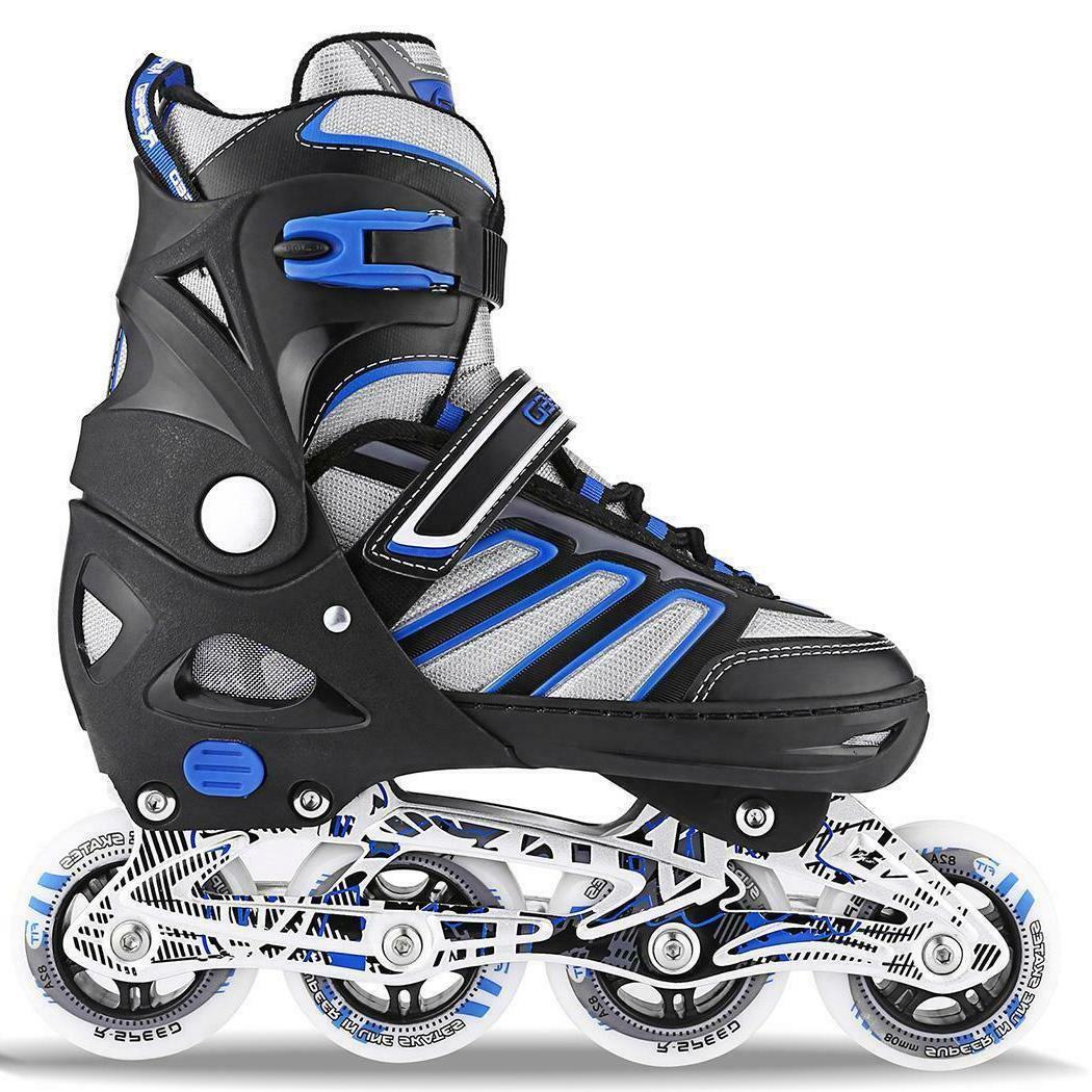 Adjustable Inline Skates Blades Sports Adult & Kids