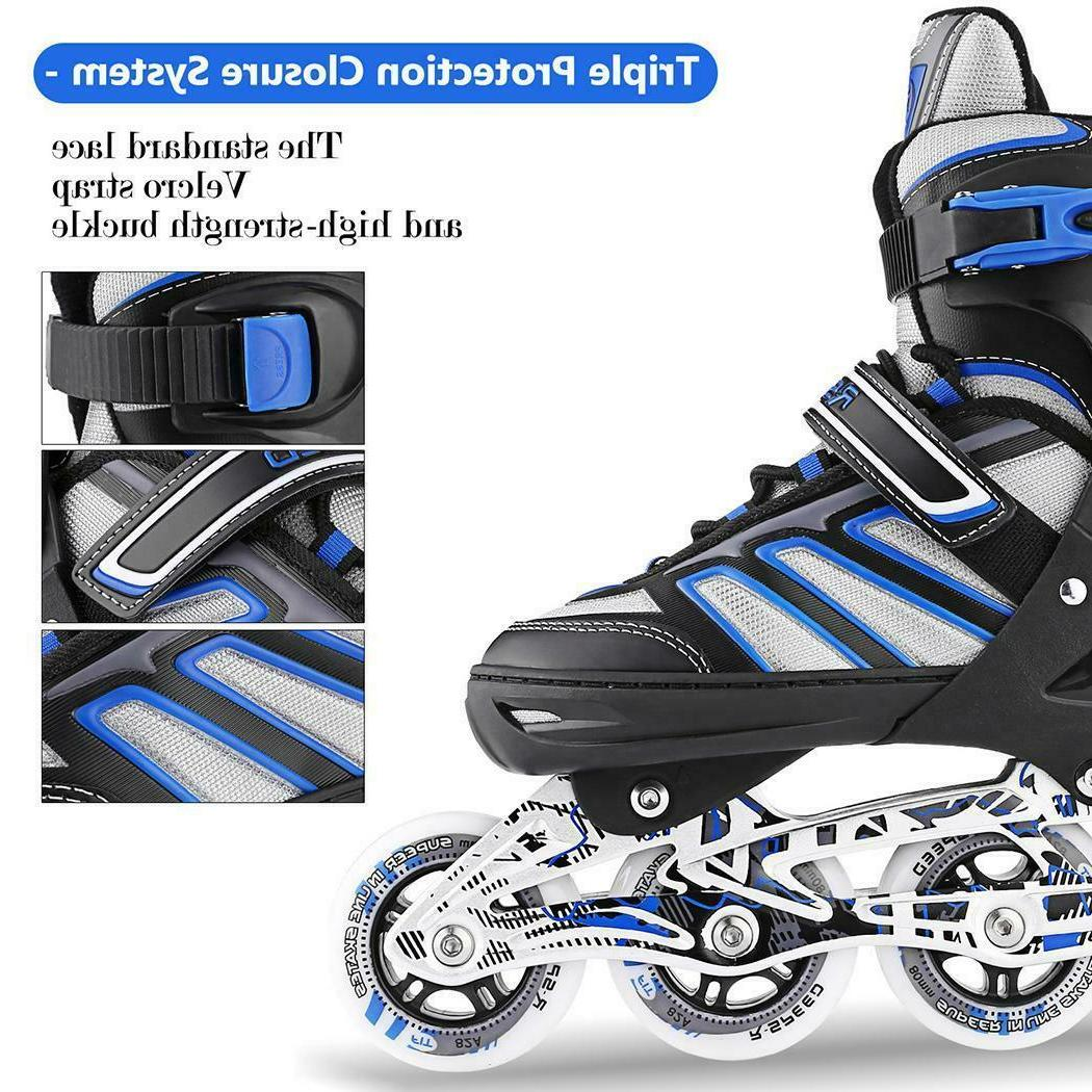 Adjustable Skates Blades Light Scale Sports Kids