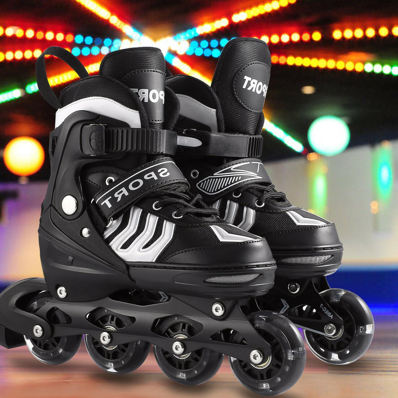 Adjustable Skates Blades Adult Size Breathable S/ M/ L