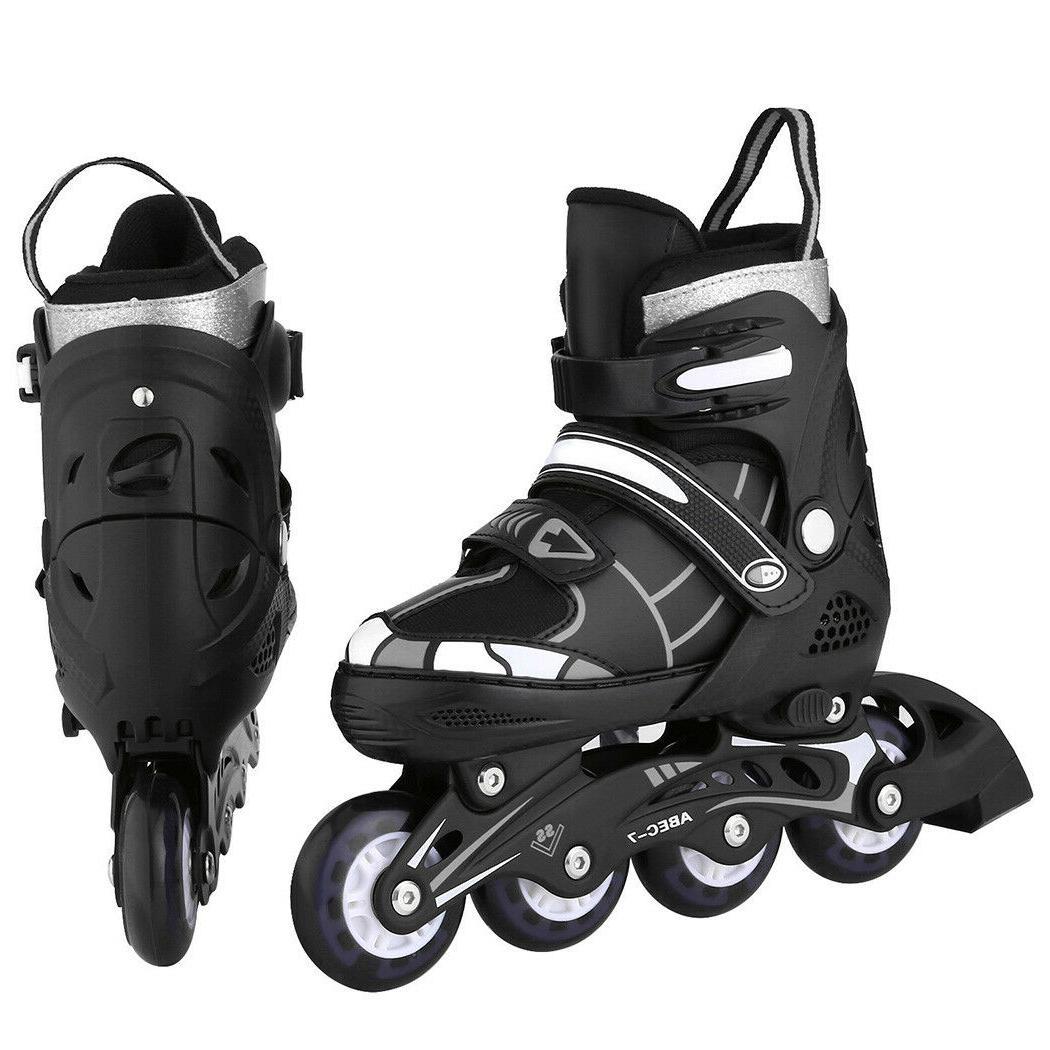 Adjustable Skates Roller Blades Breathable Adult Or
