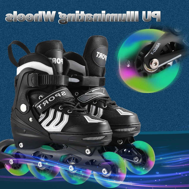Adjustable Inline Roller Blades Adult Size L