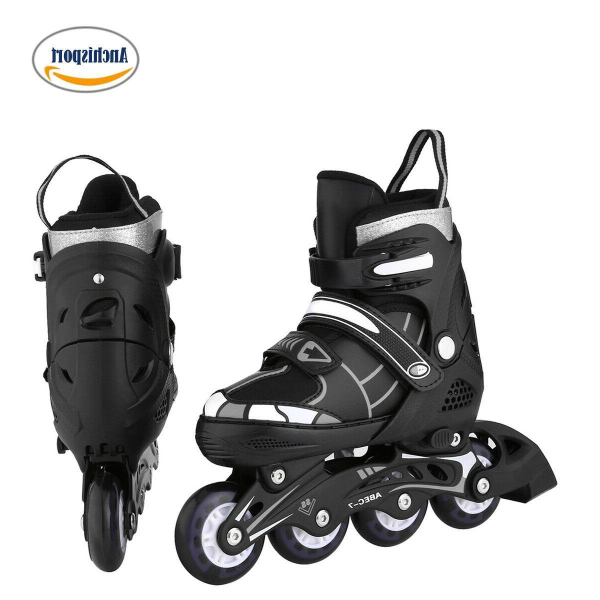 adjustable inline skates roller blades unisex adult