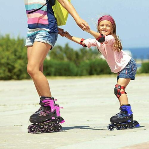 Hiboy Inline Skates with All Light Wheels Kids