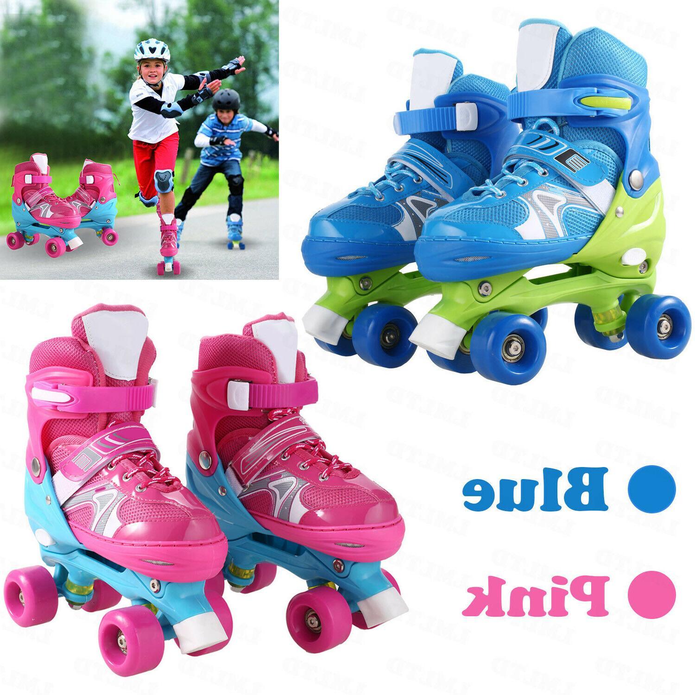 Childrens Childs Kids Boys Girls Quad Roller