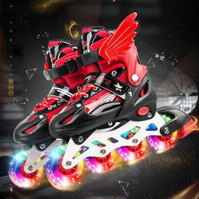 Adjustable Rink Skates Quad Roller Skates Skating