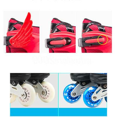 Adjustable Boys Rink 4 Quad Roller Skates
