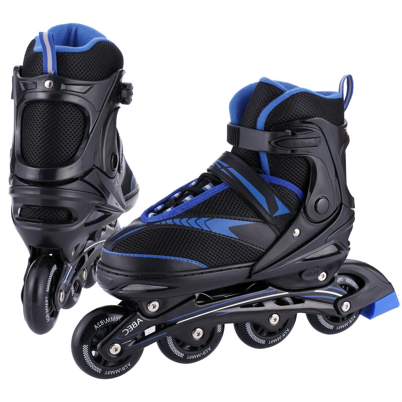 Adjustable Inline Skates Roller Blades Adult Size 8-10.0 Bre