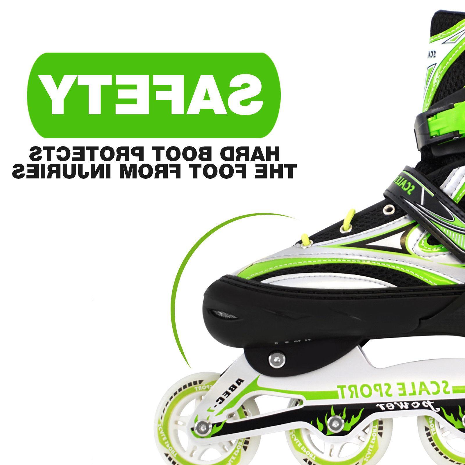 Adjustable Skates Roller Blades 8-11