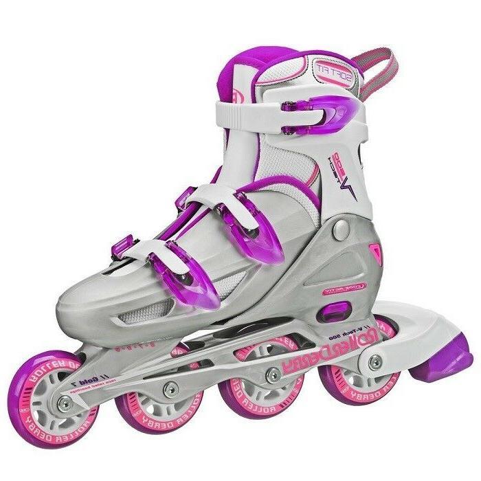 Women Roller Skates Adult Ladies Outdoor Sports Derby Size 6
