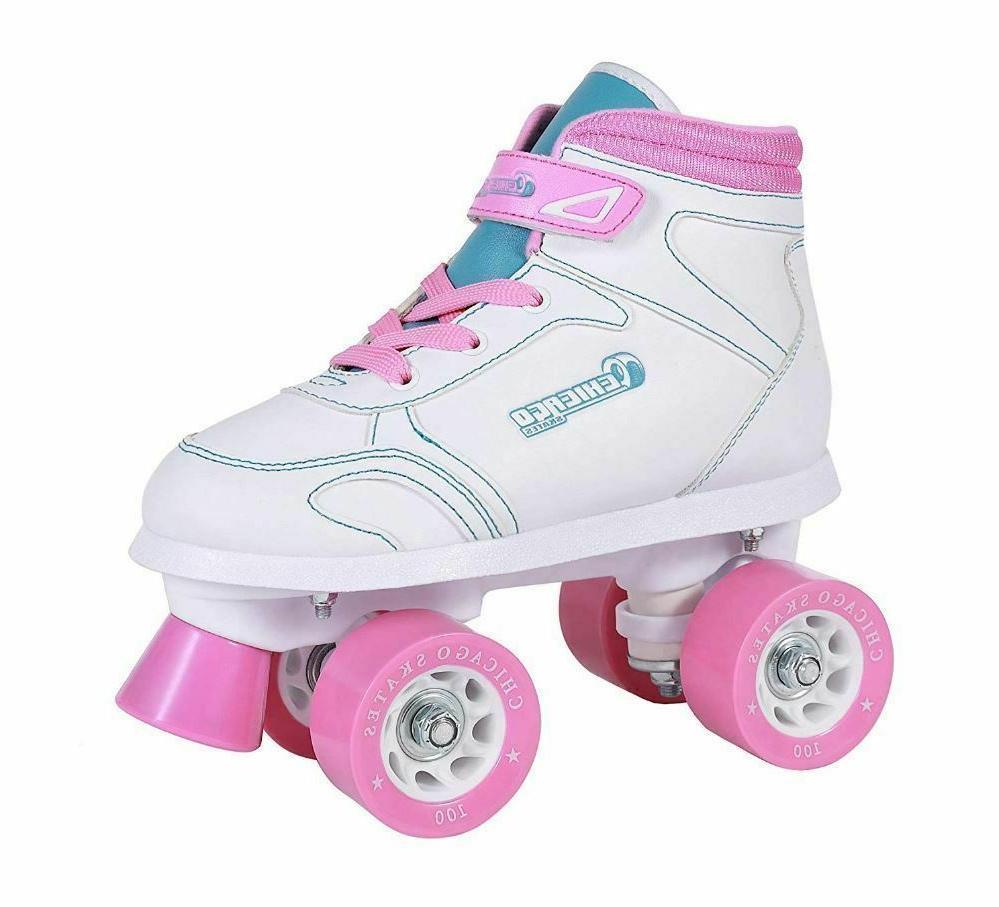 best chicago girls sidewalk roller skate size