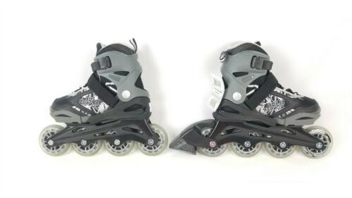Rollerblade Phoenix Skates Boy's Adjusts 4 sizes New