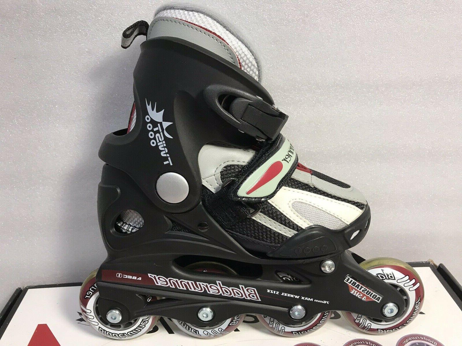 Rollerblade Bladerunner Junior Inline Roller Black Size 11 to 1