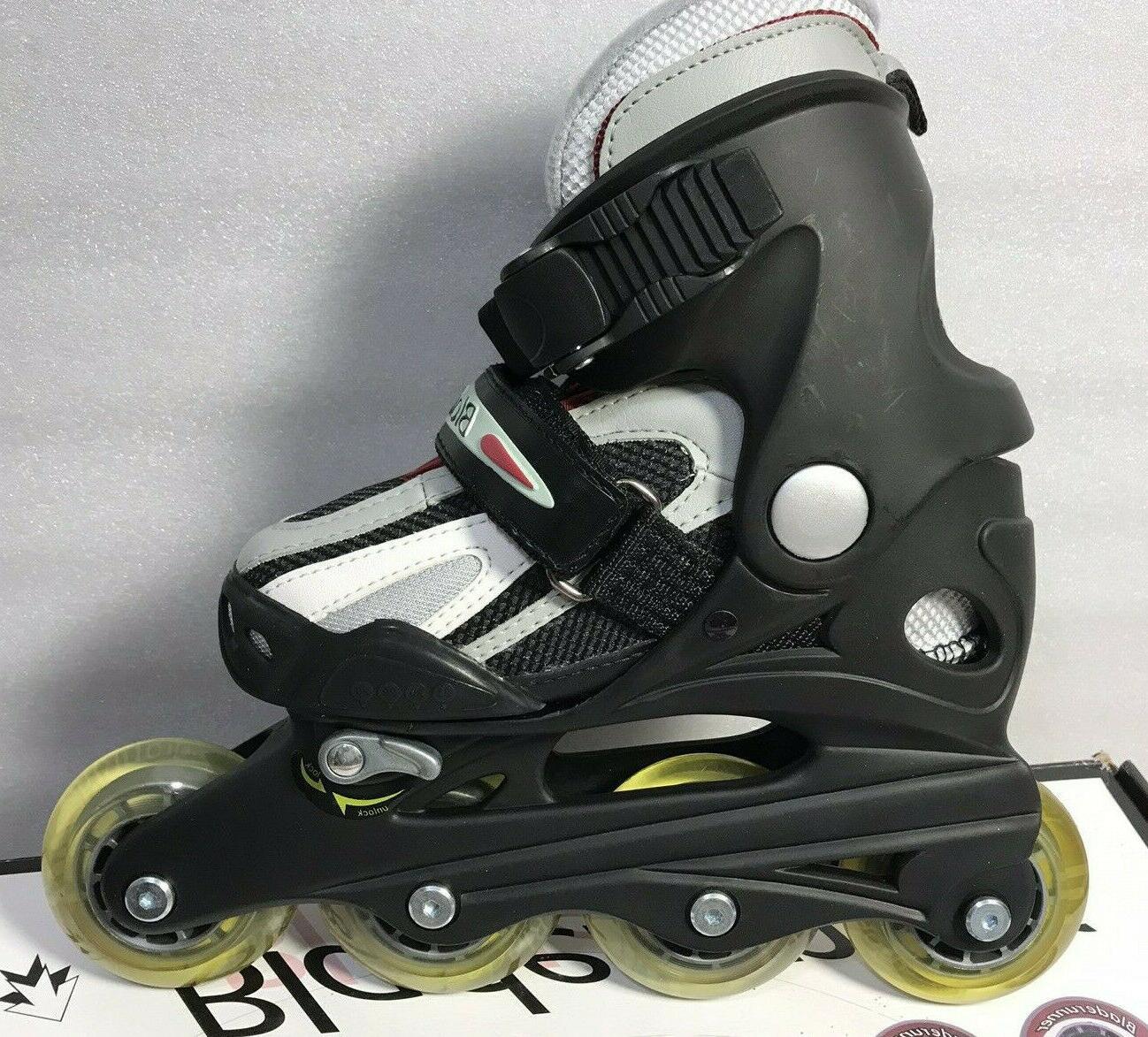 Rollerblade Bladerunner Twist Junior Inline Roller Black 11 1