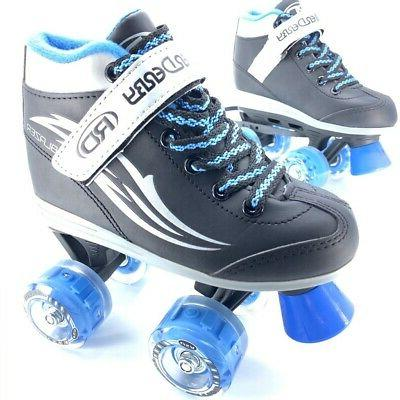 Roller Derby Blazer Boys Quad Light-Up Skates Blue 1
