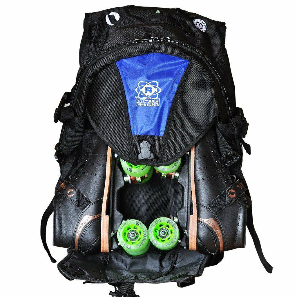 Atom Skates Backpack - Bag - Roller Derby Gear