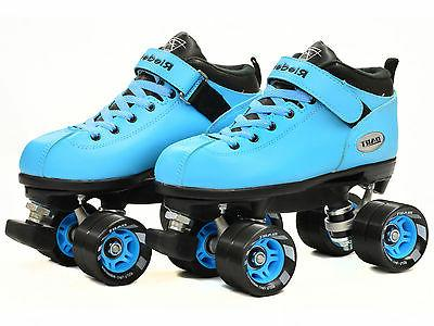 Riedell Blue Dart Quad Roller Bonus Pair Blue & Black