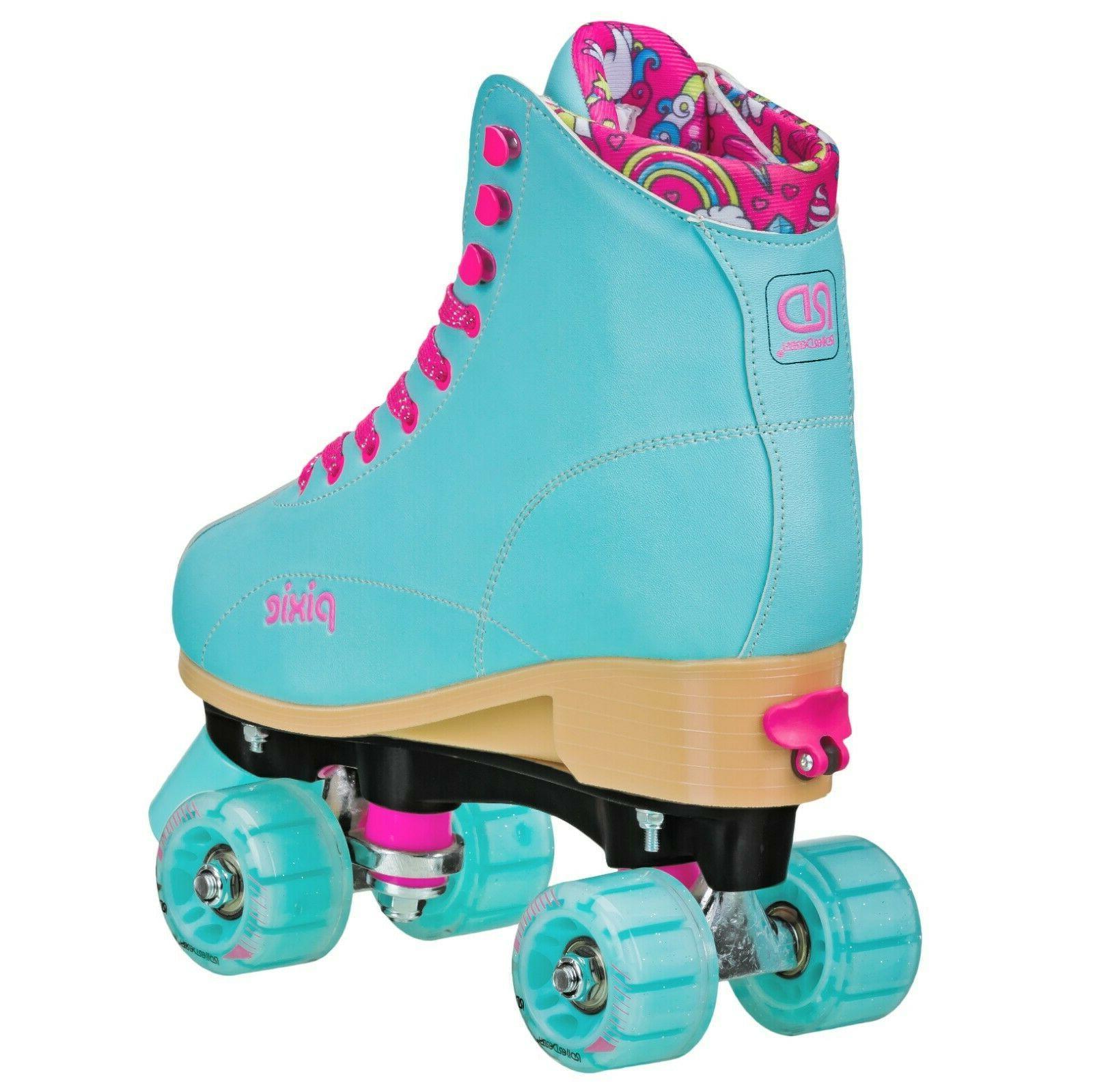 Roller Roller Skates girls adjustable PIXIE Lucy USA 12J-2