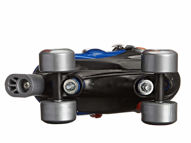 Boy's Quad Roller Skate Blue/Silver