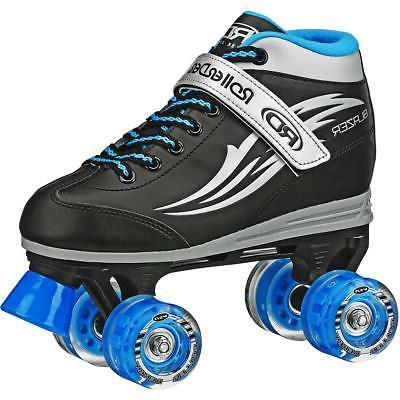 boys blazer quad light up wheel roller