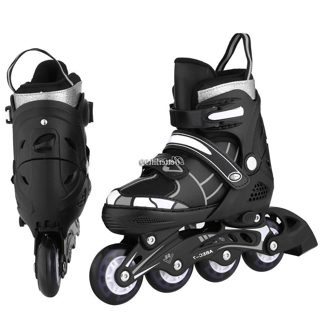 Boys Girls Inline Skates Rollerblade and Protectors Gear