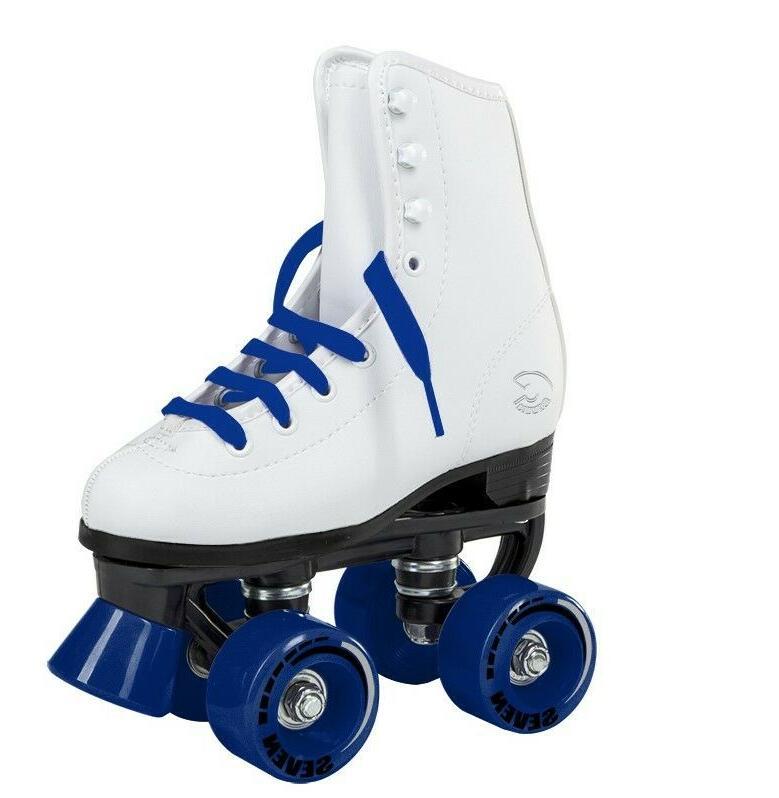 C7 Classic Skates Retro Soft Faux Leather Rink Speedy Men