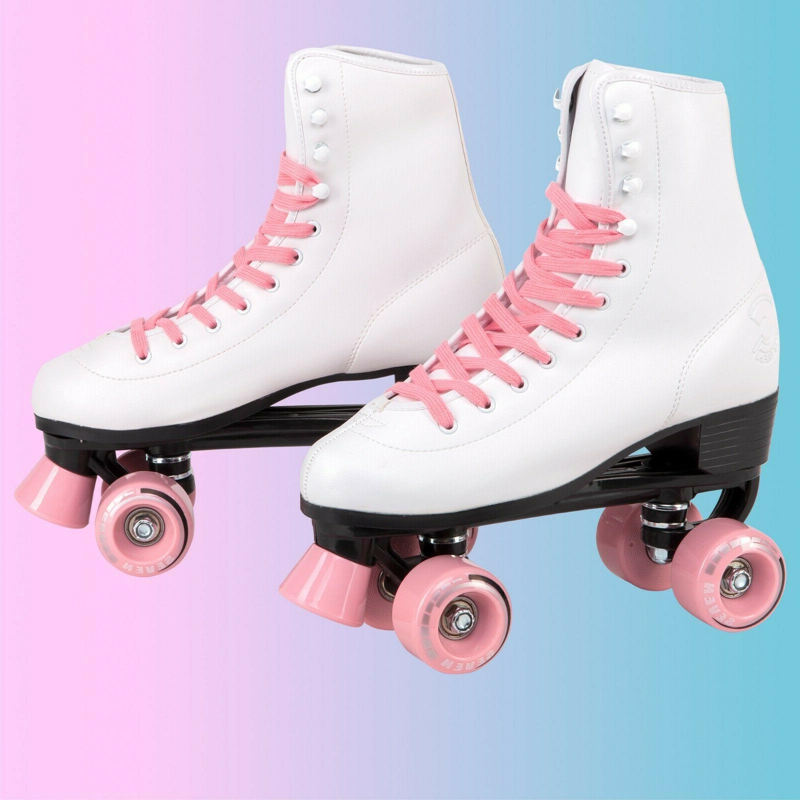 C7skates Leather Roller Skates, Gifts for Girls