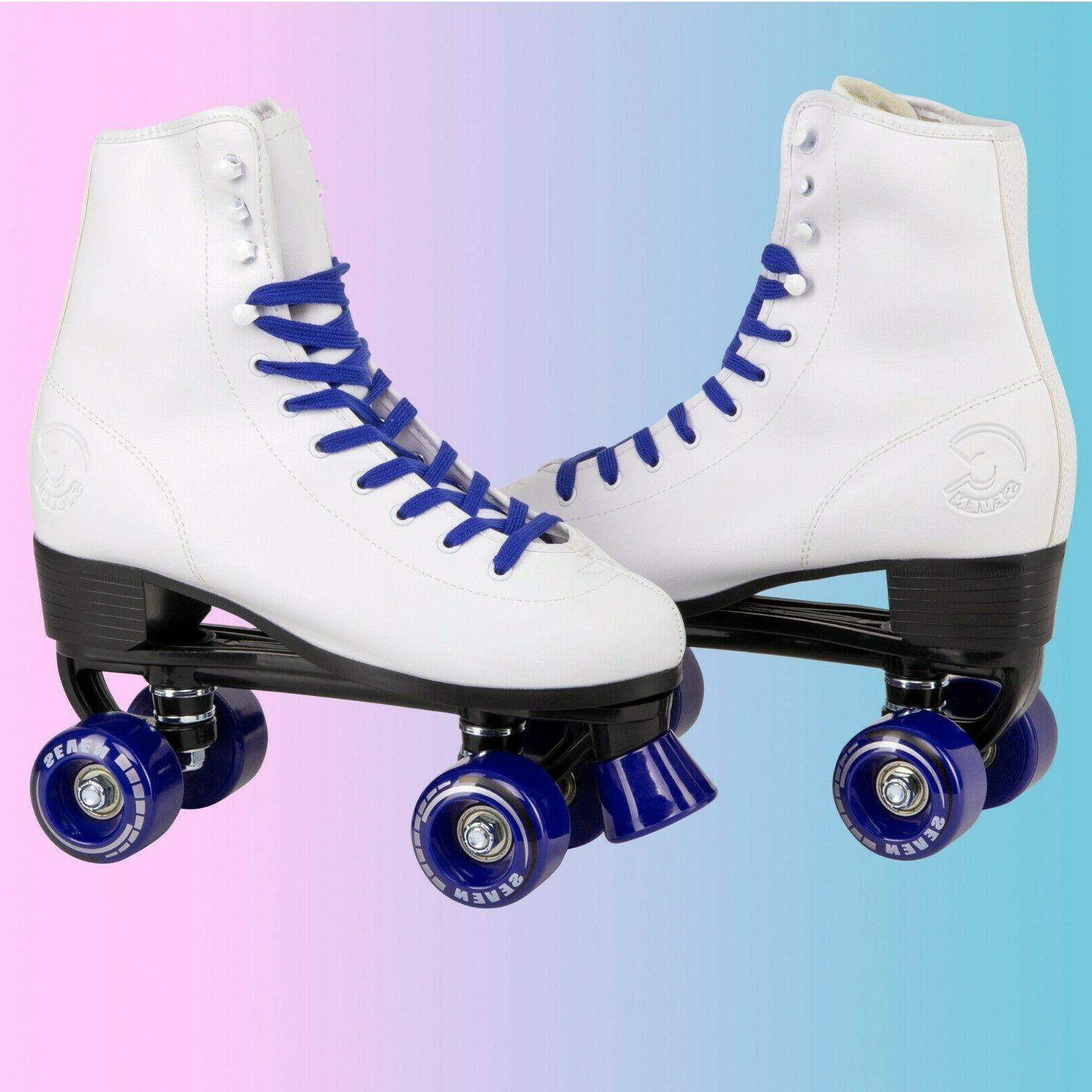 c7skates soft faux leather roller skates christmas