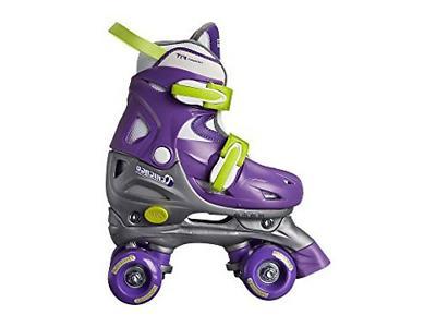 Medium Chicago Kids Adjustable Quad Roller Skates Purple