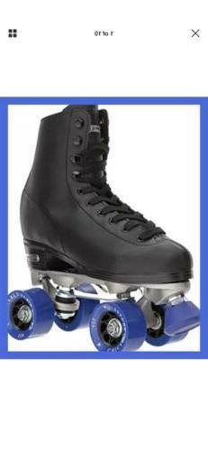 Chicago Men's Roller Rink Skates BLACK RINK QUAD SKATES SIZE