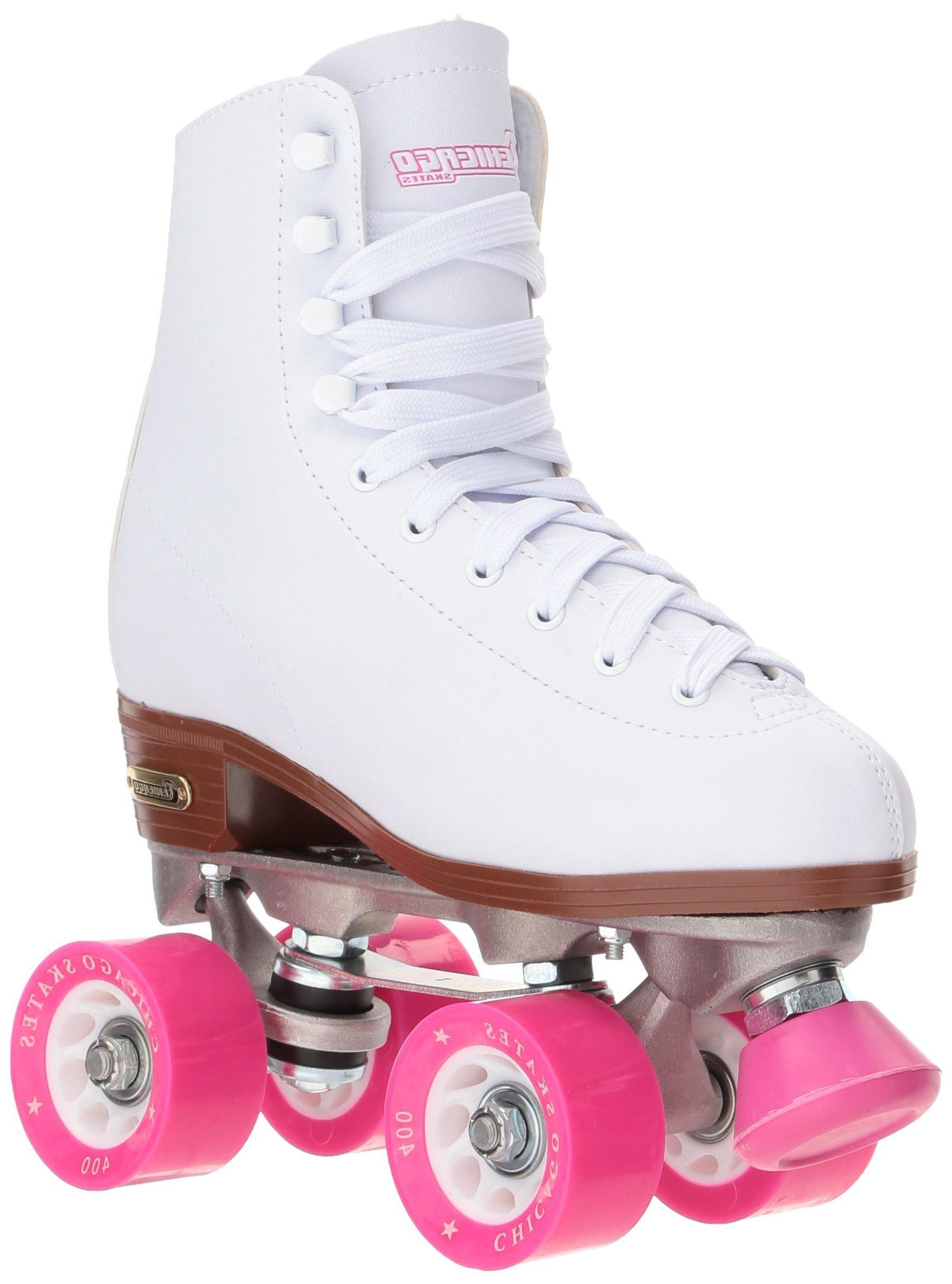 Chicago Skates White Skates - Size 8