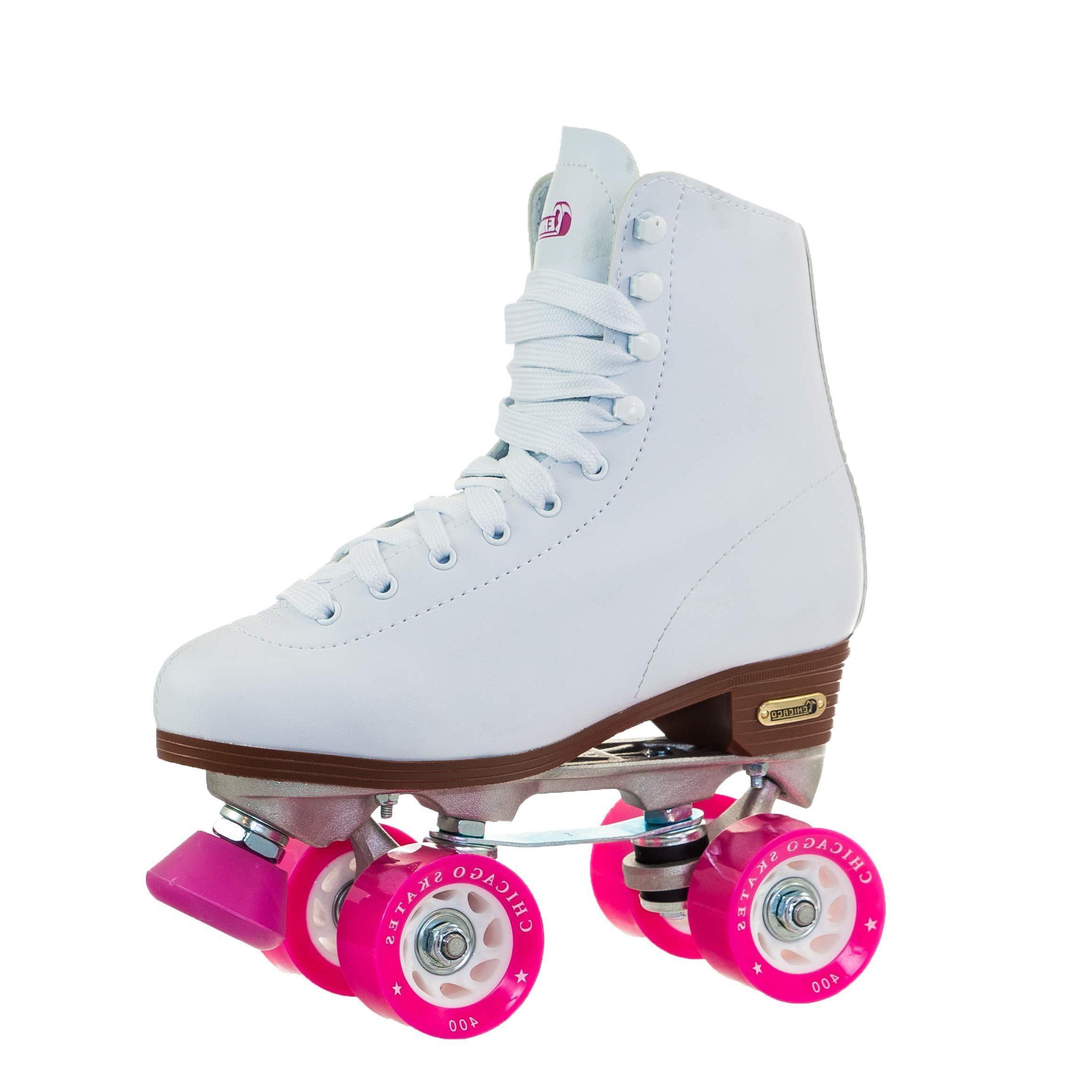 chicago womens classic roller skates white rink