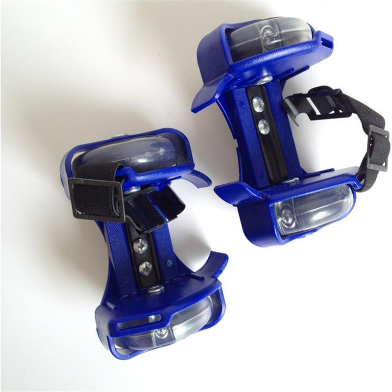 Children Wheel <font><b>Skate</b></font> Light Adjustable Hot Wheels Sport Colorful Small Pulley Strap
