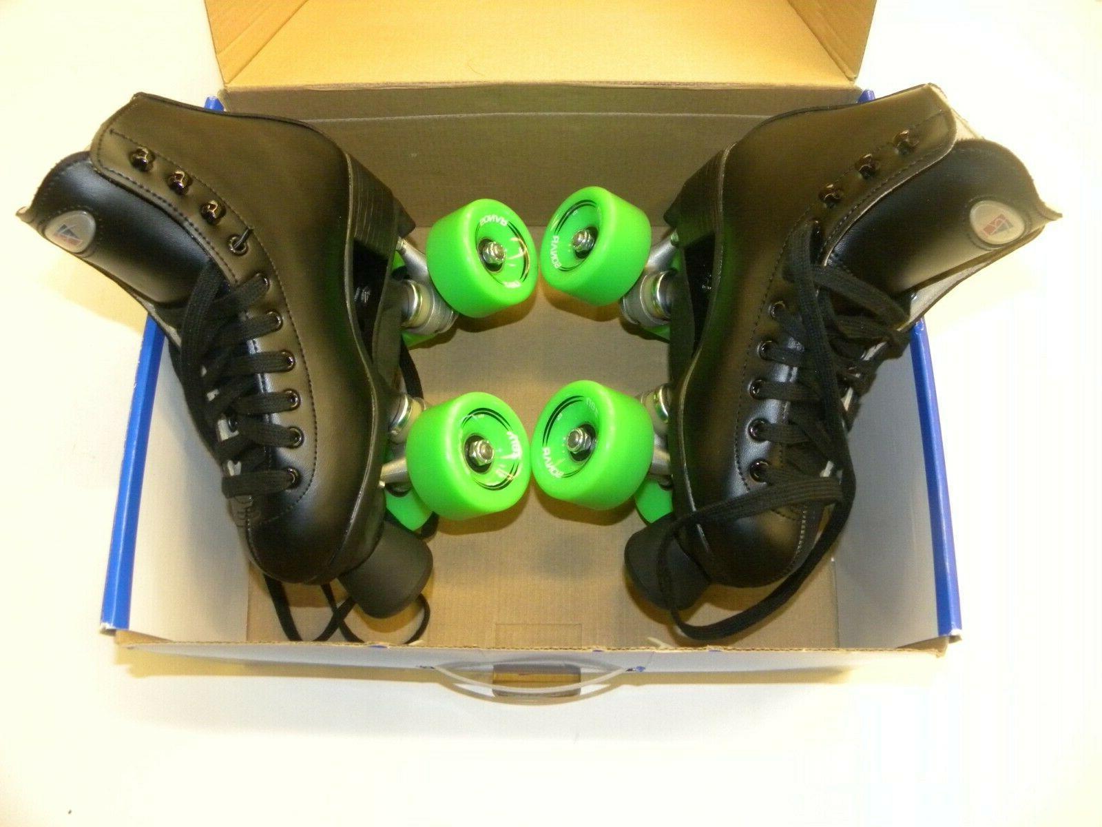 Riedell Citizen 11 Junior Roller Skate Set Size 3 Skates Pow