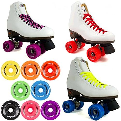 Riedell Rhythm Color Choices Skate for - Red Size