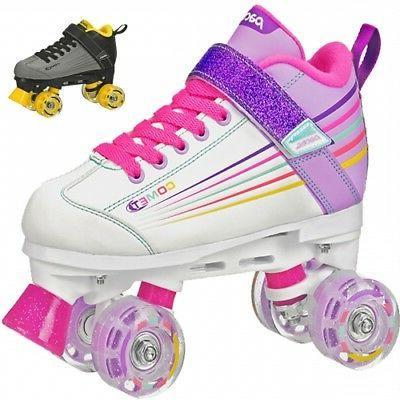 comet kids roller skates with light up