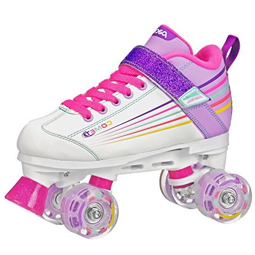 Pacer Comet Kids Roller with Up Wheels, P973, sz 13J