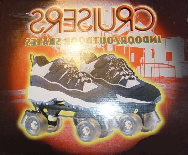 cruisers indoor outdoor unisex roller skates by