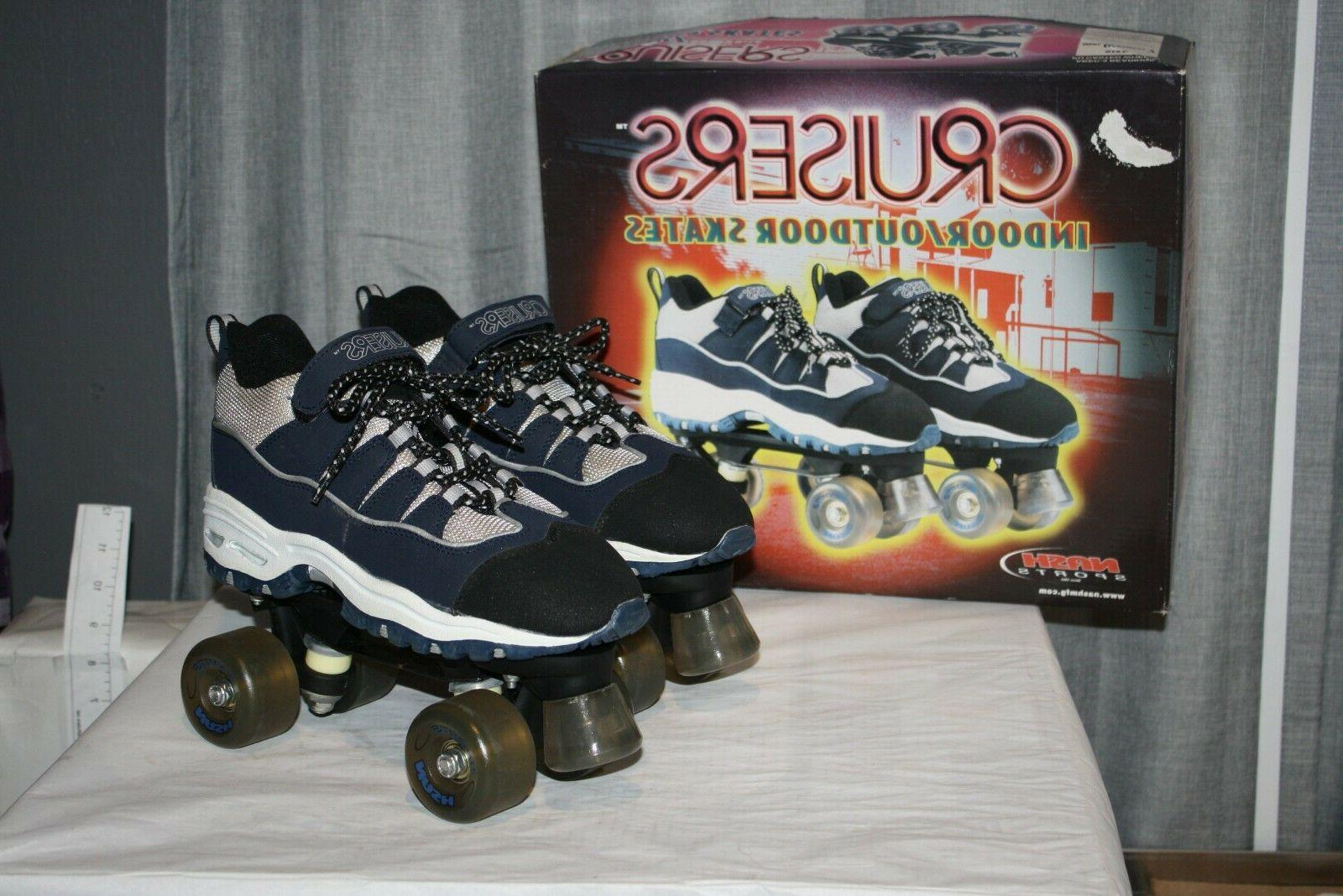 cruisers indoor outdoor unisex roller skates sports